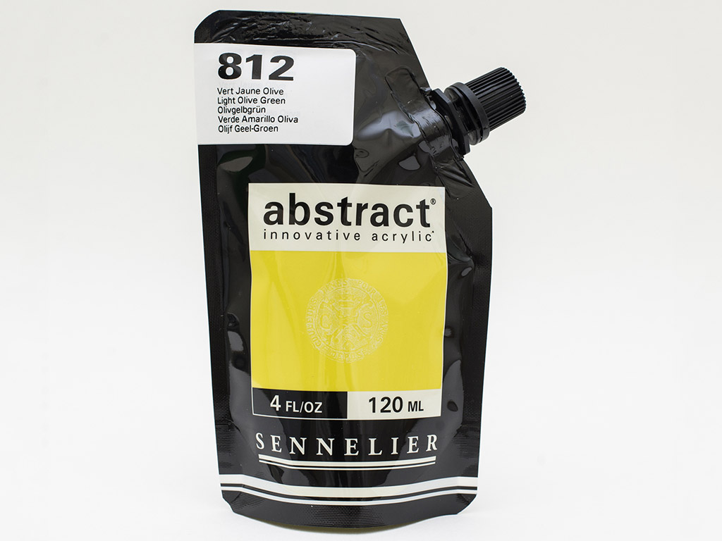 Acrylic colour Abstract 120ml 812 light olive green