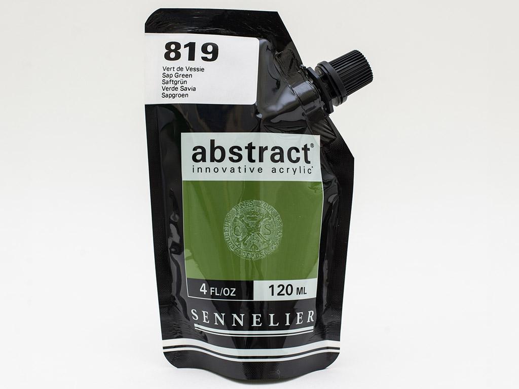 Acrylic colour Abstract 120ml 819 sap green