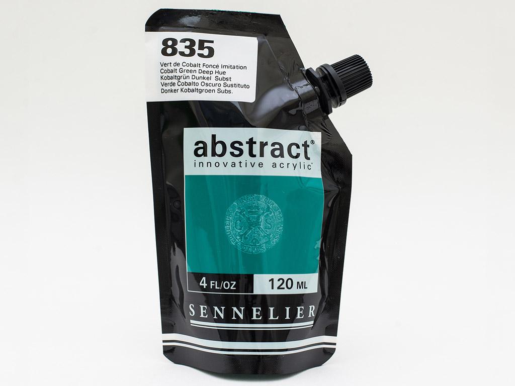 Acrylic colour Abstract 120ml 835 cobalt green deep hue