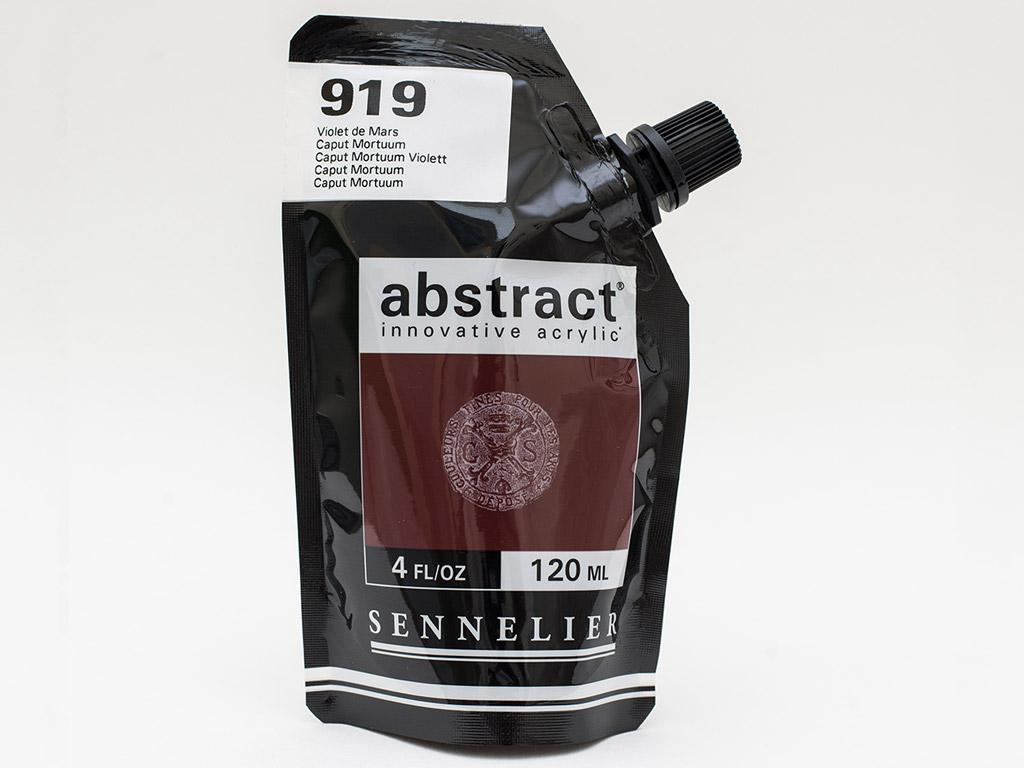 Acrylic colour Abstract 120ml 919 caput mortuum
