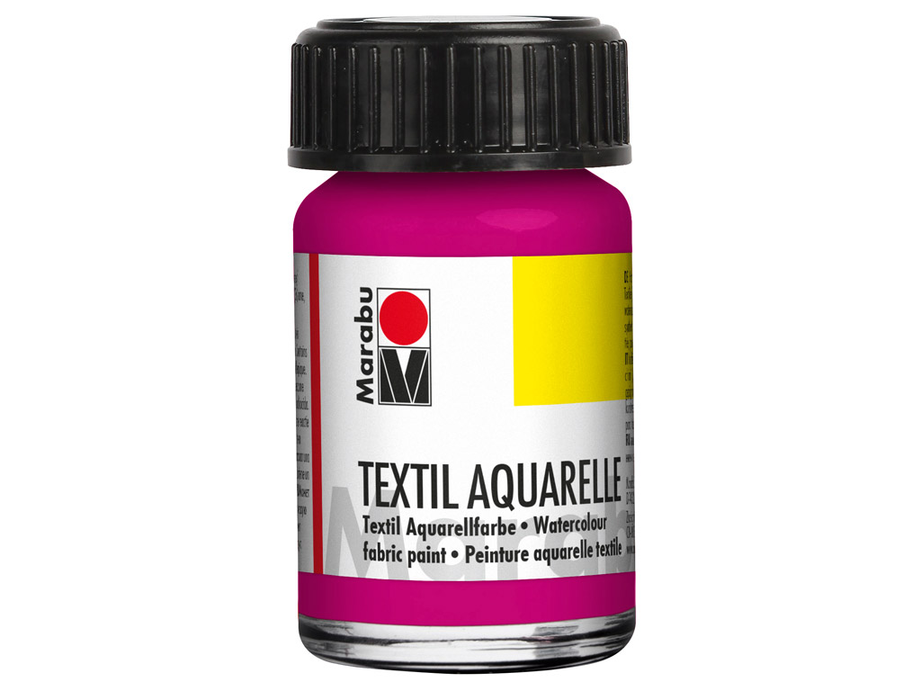 Fabric paint Textil Aquarelle 15ml 014 magenta