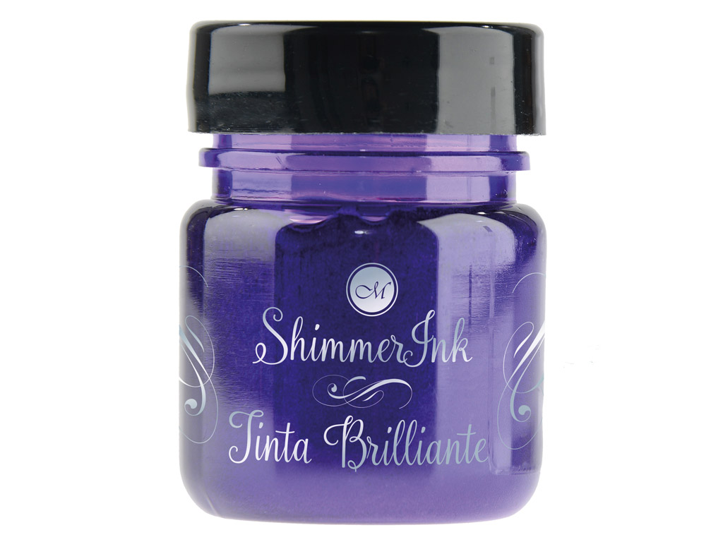 Kalligraafia tint Manuscript ShimmerInk 25ml sugar plum