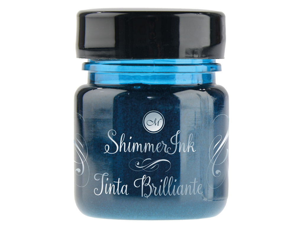 Calligraphy ink Manuscript ShimmerInk 25ml dazzling lagoon