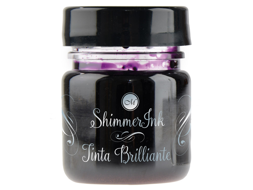 Calligraphy ink Manuscript ShimmerInk 25ml ultra violet
