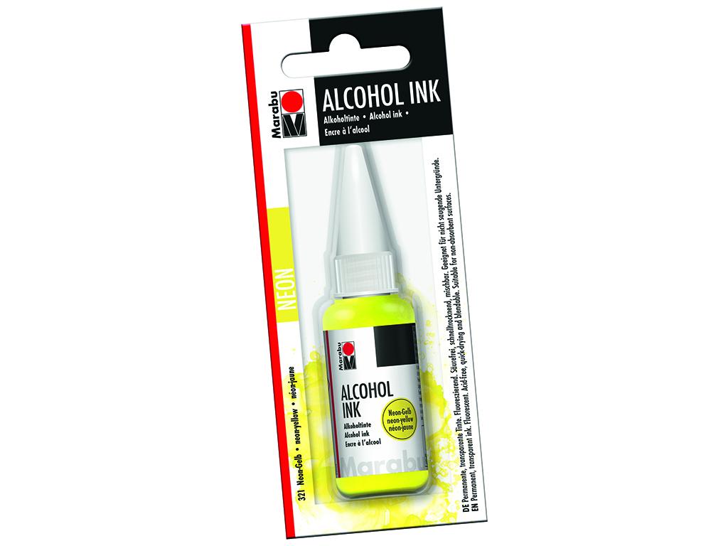 Alkoholitint Marabu 20ml 321 neon yellow