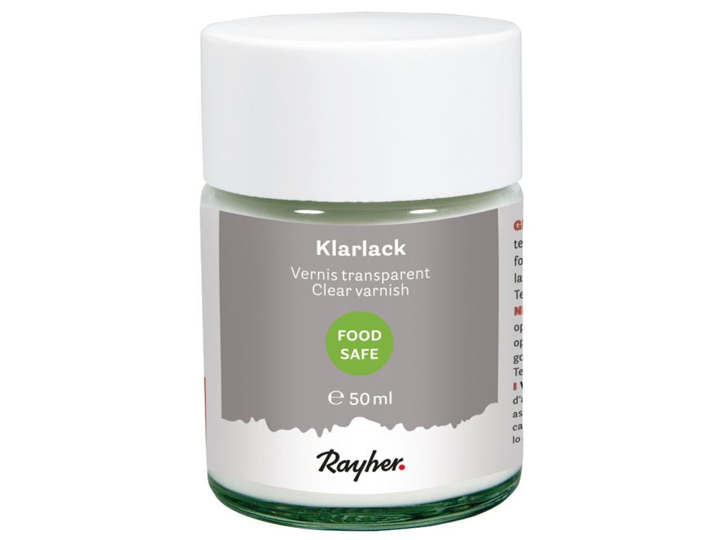 Food-safe varnish Rayher 50ml