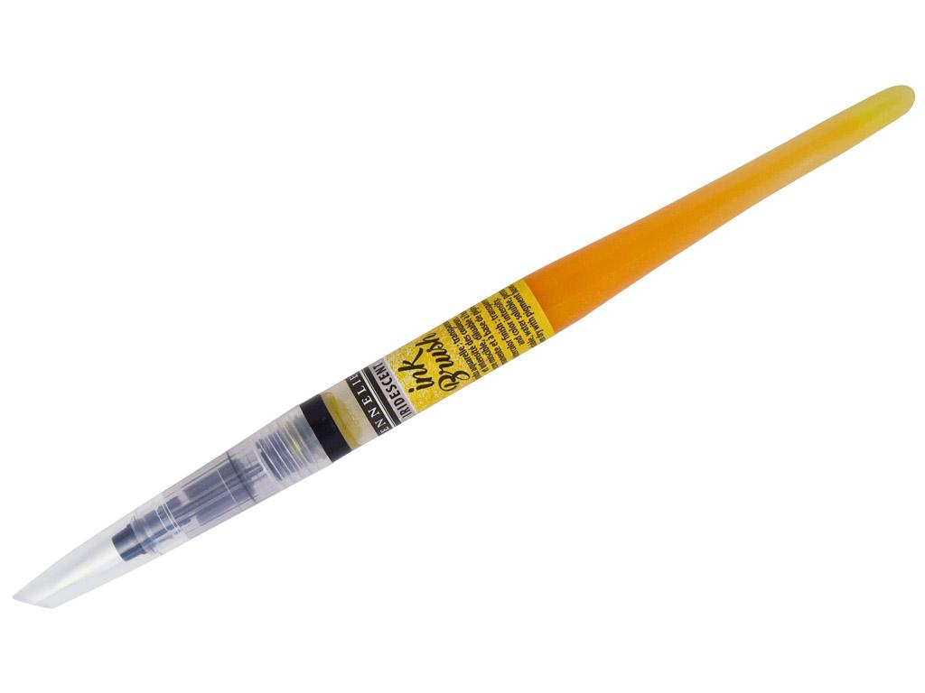Tindipintsel Sennelier Ink Brush 6.5ml 05 iridescent lemon yellow