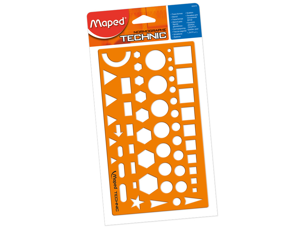 Šablonas Maped Technic