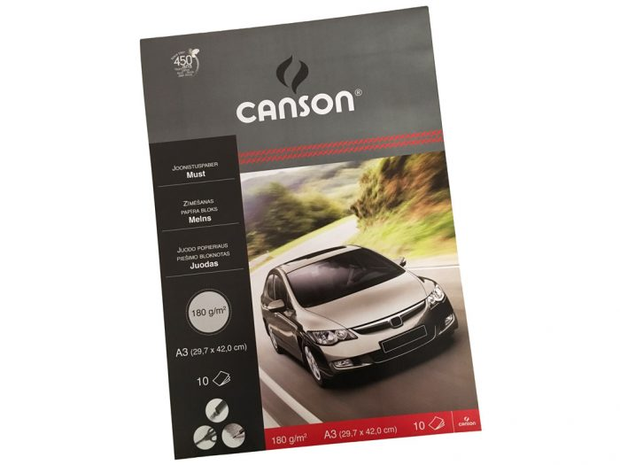 Kartong must Canson 180g