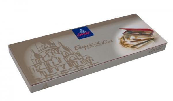 Eskizinių pieštukų komplektas Conte a Paris Sketching Studio Box