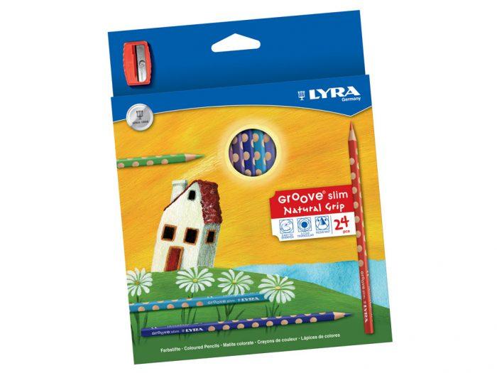 Värvipliiats Lyra Groove Slim - 1/2
