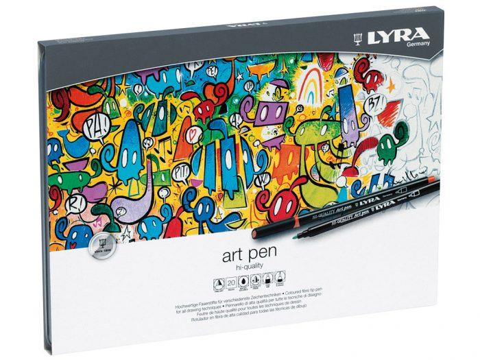 Viltpliiats Lyra Hi-Quality Art Pen - 1/2
