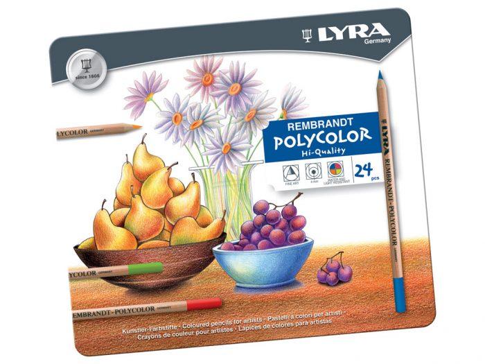 Spalvotas pieštukas Lyra Rembrandt Polycolor - 1/2
