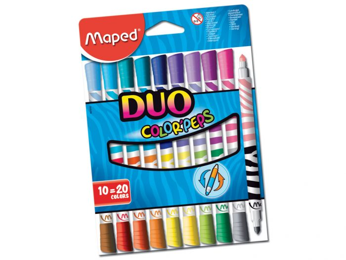 Flomasteris Maped Color'Peps Duo - 1/2