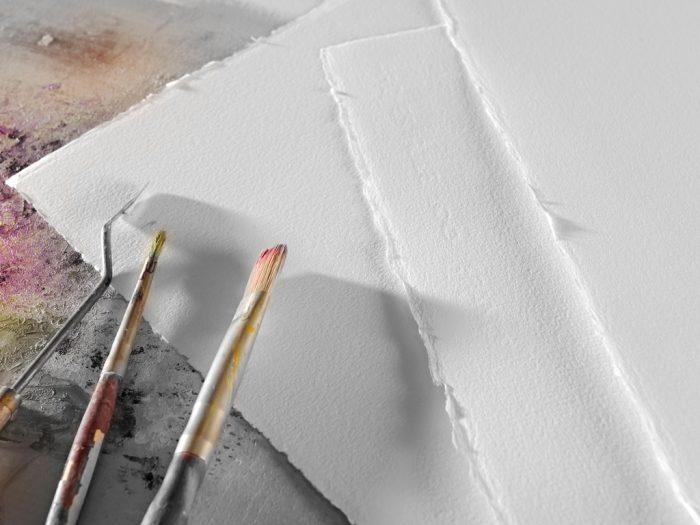 Popierius piešti akrilu Arches