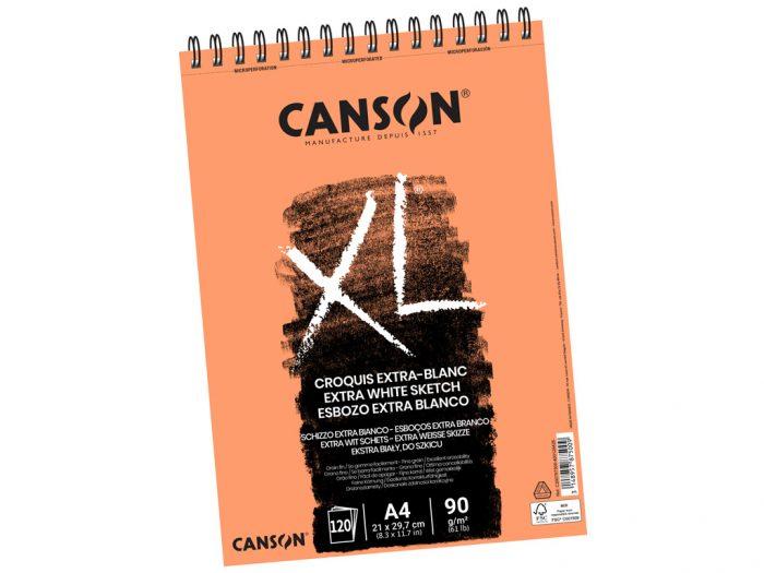 Eskiisiplokk Canson XL Extra-Blanc