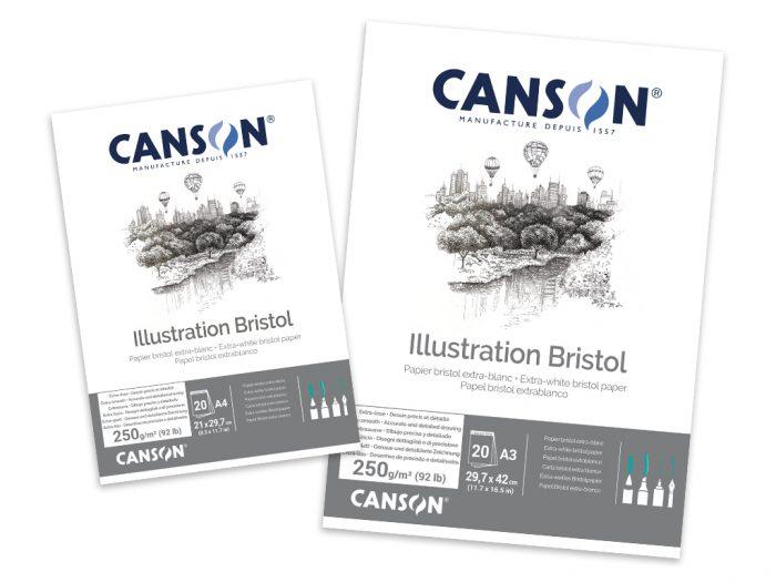 Joonestusplokk Canson Bristol