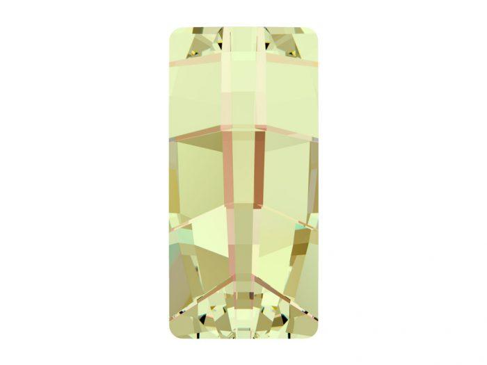 Krištolas Swarovski kvadratas 4524 23x11mm - 1/2