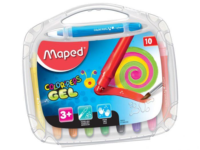 Gelinės kreidelės Maped Color'Peps - 1/3