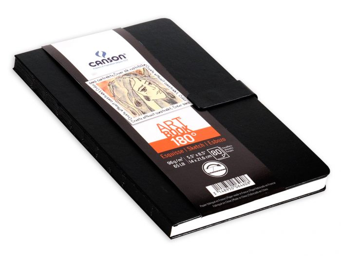 Eskiisiplokk Canson Art Book 180° - 1/2
