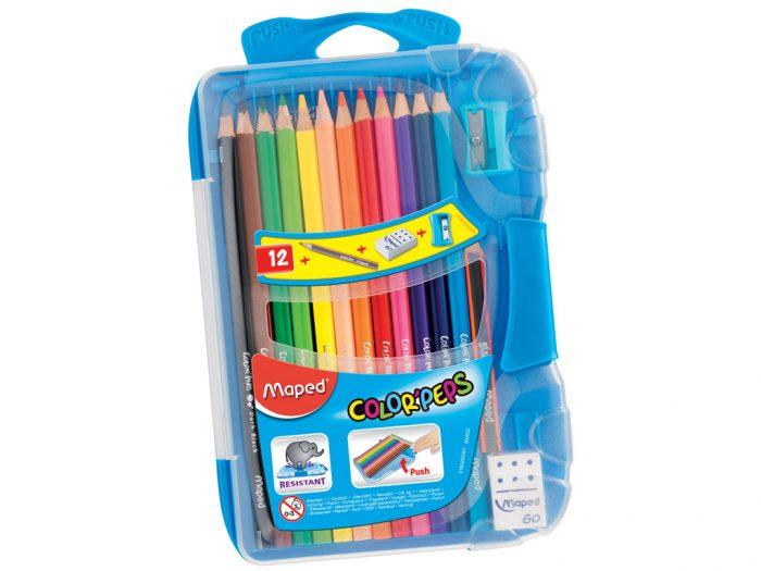 Spalvotas pieštukas Maped Color'Peps Smart Box - 1/3