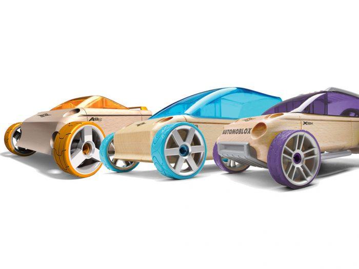 Žaislinis automobilis Automoblox Mini rinkinys A9-S/M9/X9-X