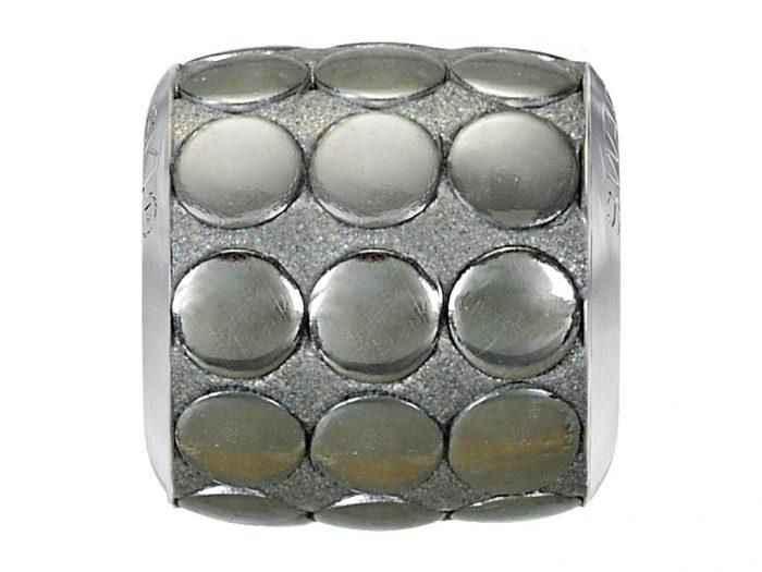 Kristāla pērle Swarovski BeCharmed Pave metallic 80701 9.5mm - 1/2
