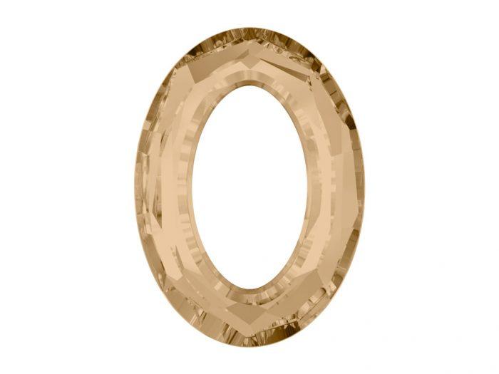 Kristallkivi Swarovski ovaal auguga 4137 15x11mm - 1/2
