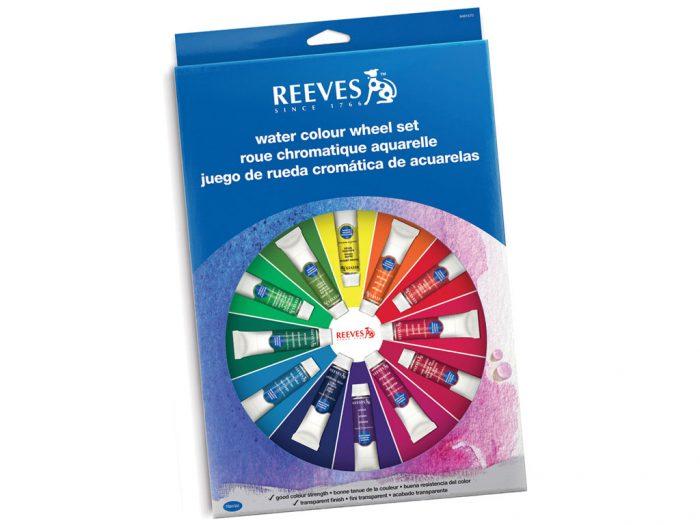 Akvareliniai dažų rinkinys Reeves Wheel