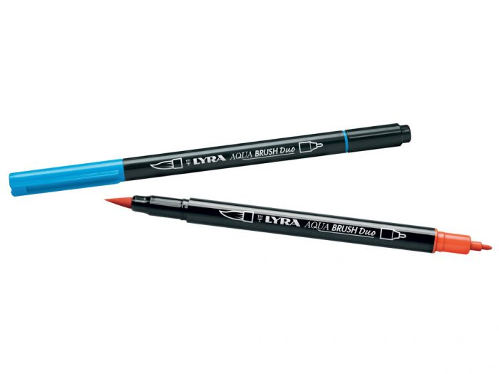 Flomasteris Lyra Aqua Brush Duo