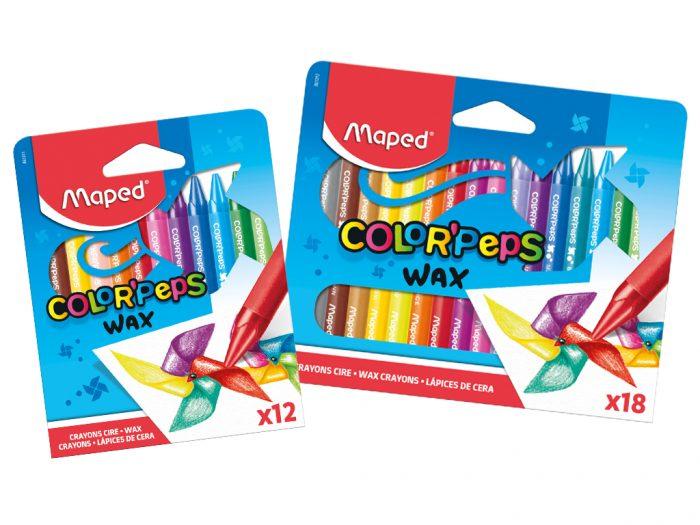 Vaškinė kreidelė Maped Color'Peps - 1/2