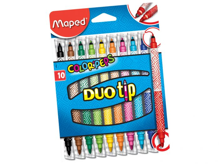 Viltpliiats Maped Color'Peps Duo tip - 1/2