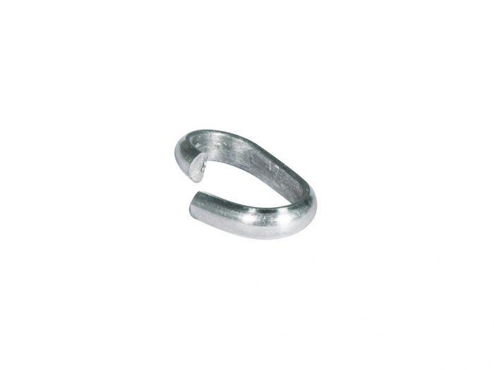 Grandinėlės tvirtinimo žiedas Rayher 12x7x2mm - 1/2