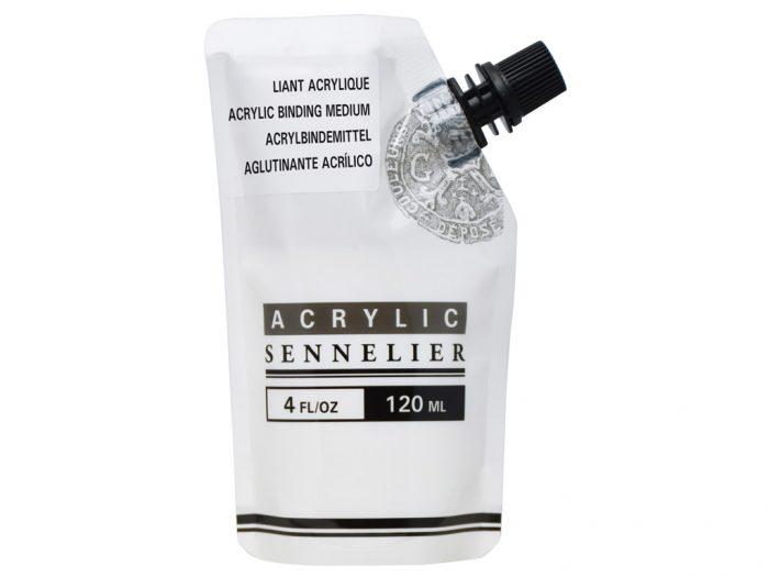 Akrilinių dažų priemonė-rišiklis Sennelier