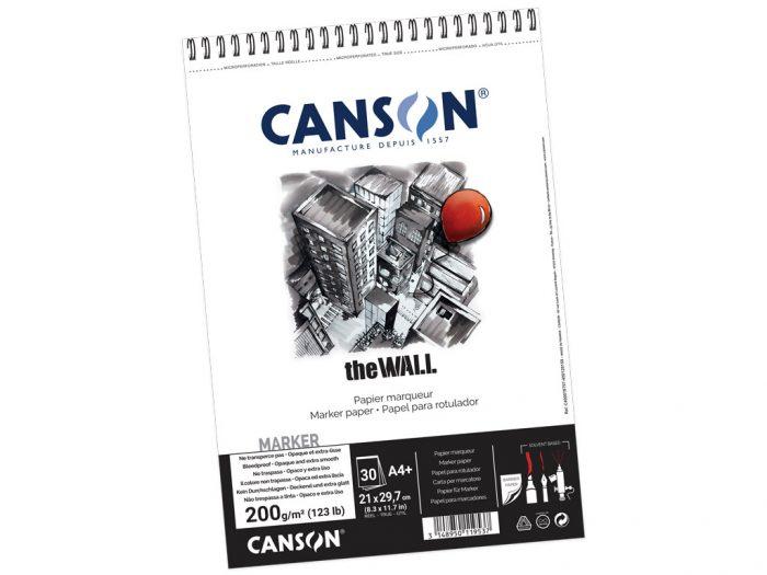 Joonistusplokk Canson The Wall - 1/2