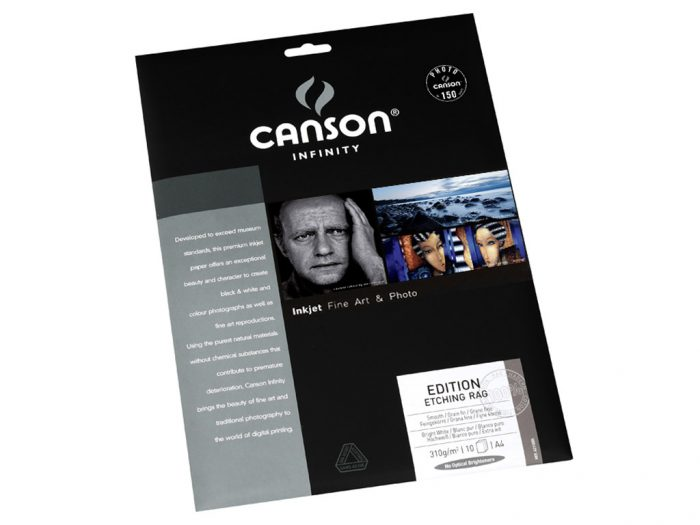 Fotopaber Canson Infinity Edition Etching Rag