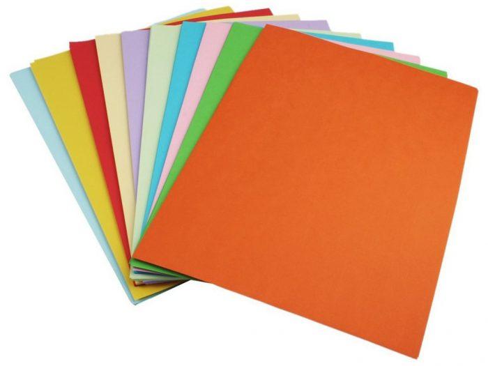 Värviline paber Ursus 130g A4