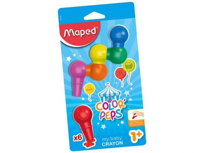Plastikinės kreidelės Maped Color'Peps Early Age Baby - 1/2