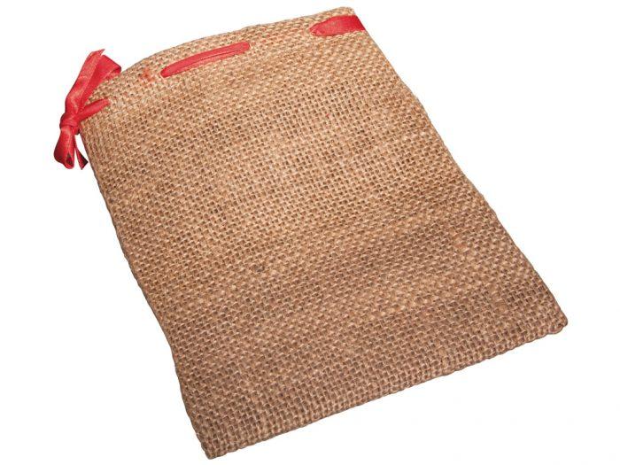 Maisu auduma maisiņš Rayher ar sarkanu aukli