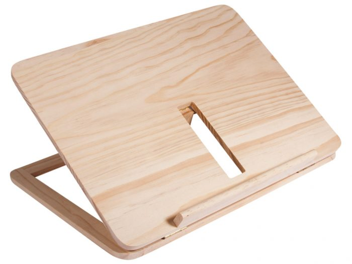 Wooden tablet&book stand Rayher - 1/4