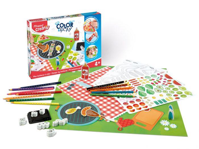 Meistravimo komplektas Maped Creativ Color&Play Design my Barbecue - 1/6