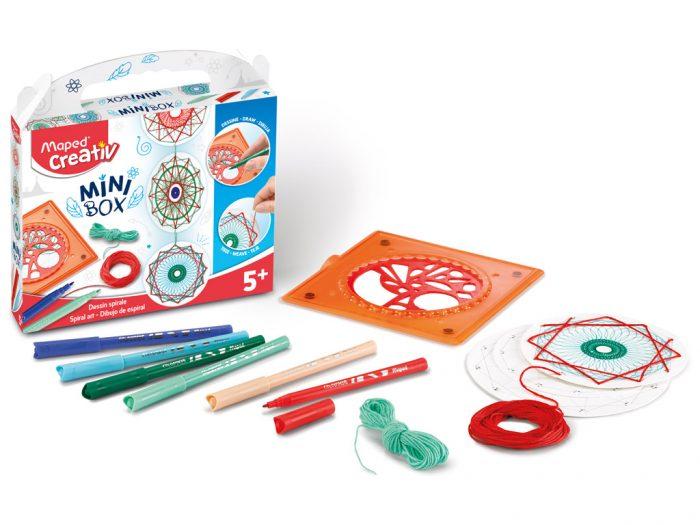 Spiral art kit Maped Creativ Mini Box - 1/5
