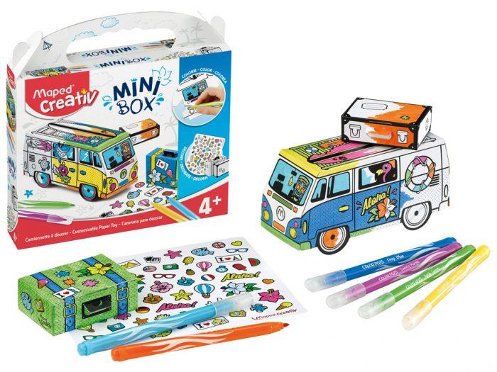 Meistravimo komplektas Maped Creativ Mini Box mikroautobusas - 1/5