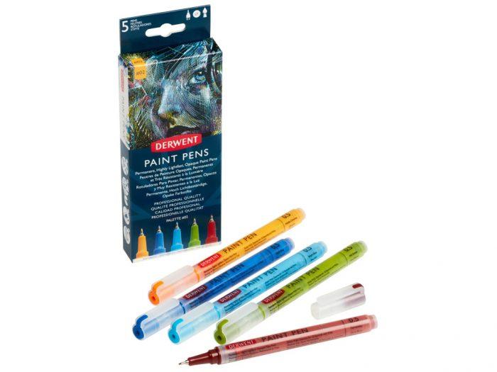 Marker Derwent Paint Pen komplekt - 1/3