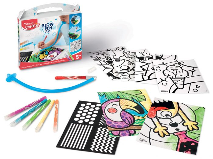 Puhutav viltpliiatsikomplekt Maped Creativ Blow Pen Pop'Art - 1/4