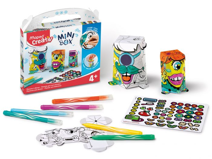 Crafting kit Maped Creativ Mini Box monsters - 1/6