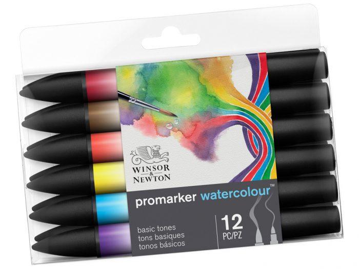 Watercolour marker set Winsor&Newton Promarker - 1/2