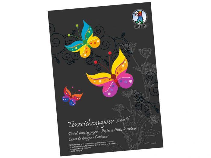 Värvilise paberi plokk Ursus Special Edition