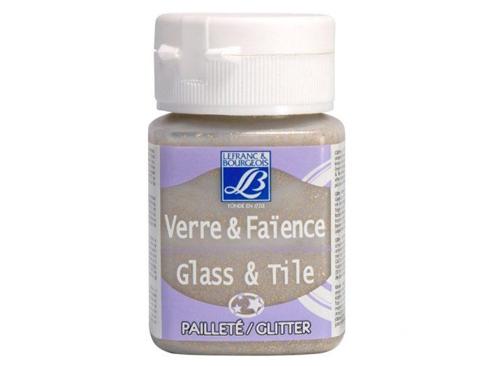 Stiklo dažai Glass&Tile Glitter 50ml