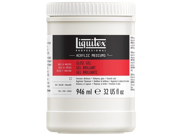 Akrüülvärvi geelimeedium Liquitex Gloss
